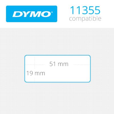 DYMO 11355 LW Çok Amaçlı Etiket 19x51mm / 500 lü Paket