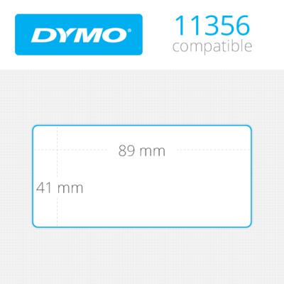 DYMO 11356 LW Çok Amaçlı Etiket 89x41mm / 300 lü Paket