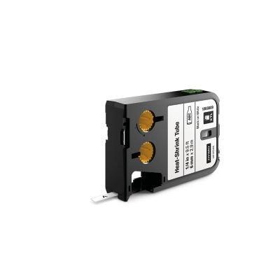 DYMO 1868809 XTL Isıyla Küçülen Etiketi,6 mm x 2.7 m Byz/Syh
