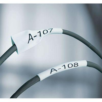 DYMO 1868810 XTL Isıyla Küçülen Etiketi,12 mm x 2.7 m Byz/Syh