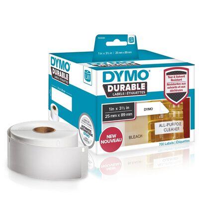 DYMO 1933081 LW Kalıcı Güçlü Etiket 25x89mm / 700 lü Paket