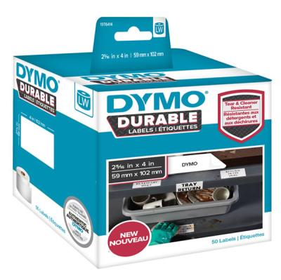 DYMO 1976414 LW Kalıcı Güçlü Etiket 59x102mm / 50 li Paket