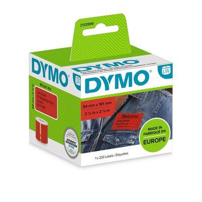 Dymo 2133399 Standart Sevkiyat Yazıcı Etiketleri Kırmızı 54x101mm