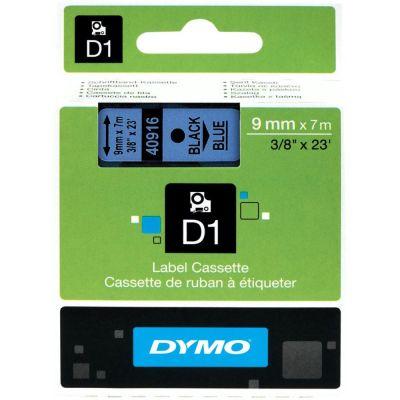DYMO 40916 Mavi/Siyah D1 Yedek Şerit (9 mm x 7 mt)