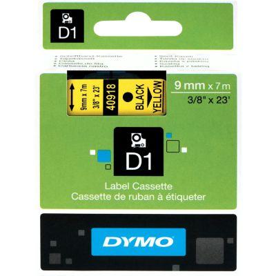 DYMO 40918 Sarı/Siyah D1 Yedek Şerit (9 mm x 7 mt)