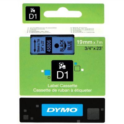 DYMO 45806 Mavi/Siyah D1 Yedek Şerit (19 mm x 7 mt)