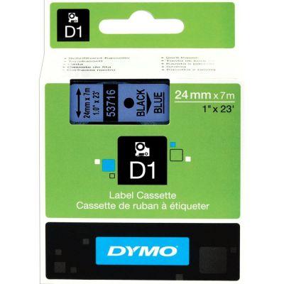 DYMO 53716 Mavi/Siyah D1 Yedek Şerit (24 mm x 7 mt)