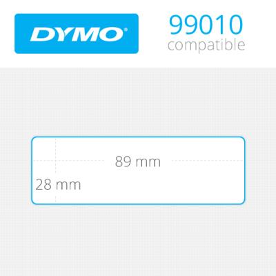 DYMO 99010 LW Çok Amaçlı Etiket 89x28mm / 260 lı Paket