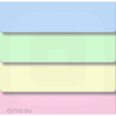 DYMO 99011 LW Renkli Adres Etiketi 89x28mm / 520 li Paket