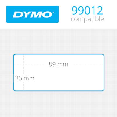 DYMO 99012 LW Geniş Adres Etiketi 89x36mm 520 li Paket