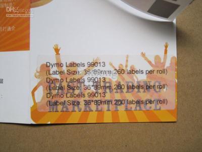 DYMO 99013 LW Şeffaf Adres Etiketi 89x36mm / 260 lı Paket