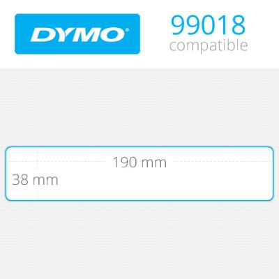 DYMO 99018 LW Dar Klasör Sırt Etiketi 190x38mm / 110 lu Paket