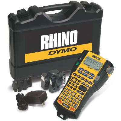DYMO Rhino PRO 5200 Şarj Edilebilir Profesyonel Etiket Makinesi (Çantalı Kit)
