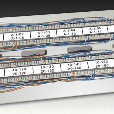DYMO RhinoPRO 1805440 Şeffaf/Siyah Sabit Polyester Şerit 6 mm x 5,5 mt