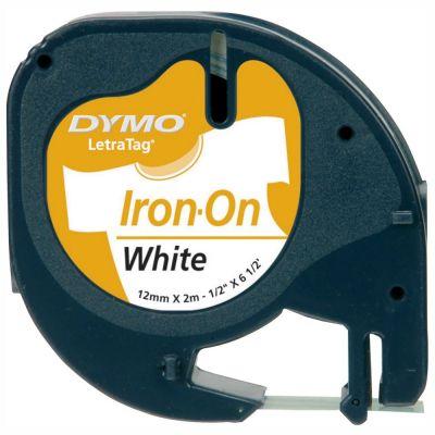 DYMO S0718850 LetraTag Beyaz Transfer Ütü Şeridi (12mm x 2mt)