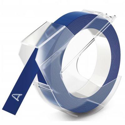 DYMO Mavi 3D Plastik Kabartma Yedek Şerit (9mm x 3mt)