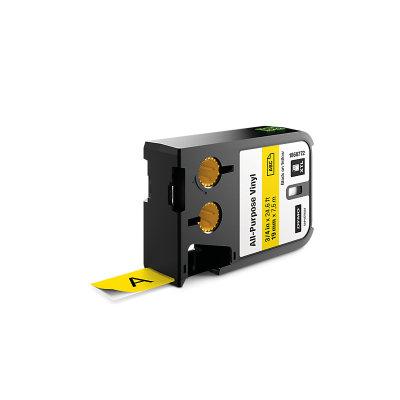 DYMO XTL 1868772 Çok Amaçlı Vinil Etiket 19mm x 7m Sarı - Siyah